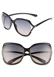 Tom Ford Anouk 60mm Geometric Sunglasses