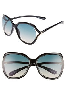 Tom Ford Anouk 60mm Geometric Sunglasses