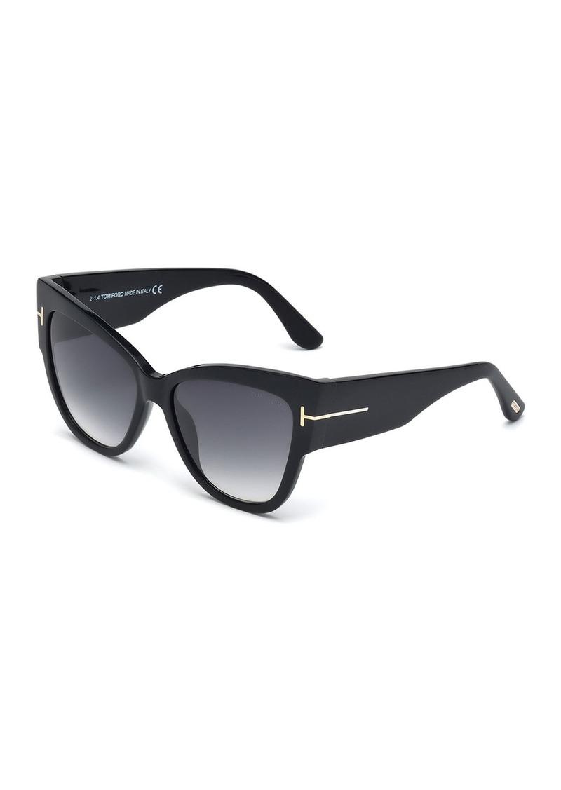 TOM FORD Anoushka Butterfly Sunglasses