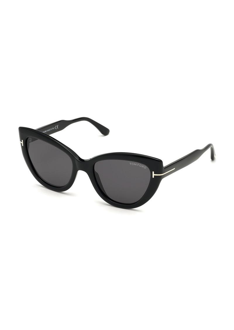 TOM FORD Anya Cat-Eye Polarized Sunglasses