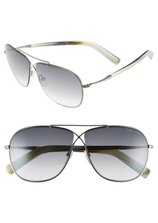 Tom Ford 'April' 61mm Retro Sunglasses