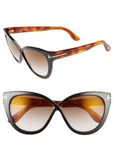 Tom Ford Arabella 59mm Cat Eye Sunglasses
