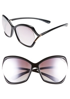 Tom Ford Astrid 61mm Geometric Sunglasses