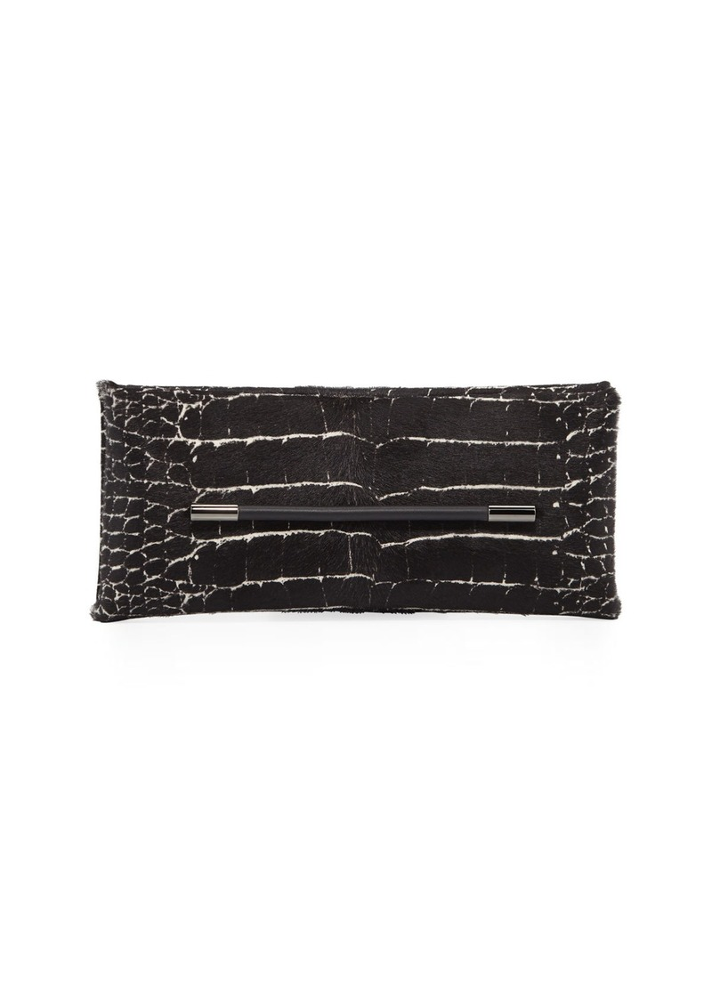 TOM FORD Ava Calf Hair Clutch Bag
