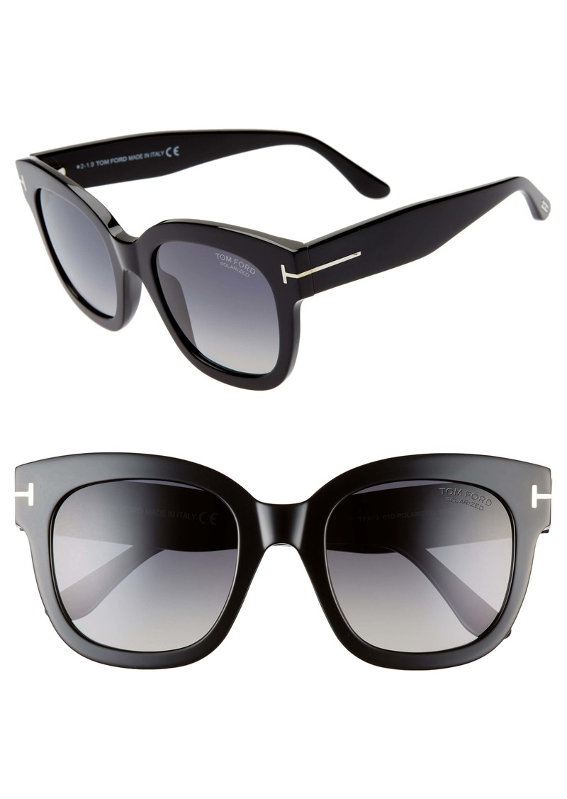Tom Ford Beatrix 52mm Polarized Sunglasses