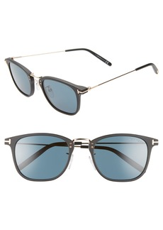 Tom Ford Beau 53mm Square Sunglasses