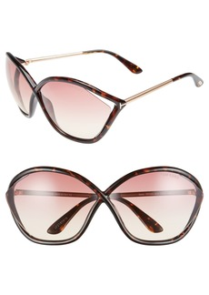 Tom Ford Bella 71mm Gradient Lens Sunglasses