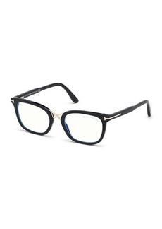 TOM FORD Blue Block Acetate Optical Frames