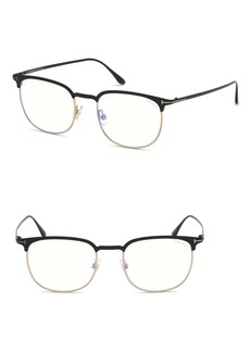 Tom Ford 52mm Blue Light Blocking Glasses