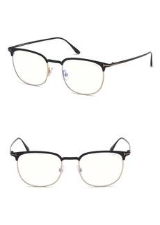 Tom Ford Blueblock 52mm Sunglasses