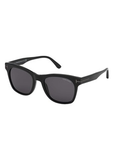 Tom Ford Brooklyn 54mm Square Sunglasses