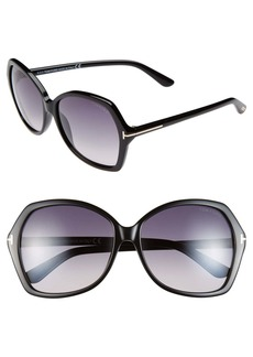 Tom Ford Carola 60mm Sunglasses