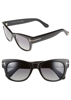 Tom Ford 'Cary' 52mm Polarized Sunglasses