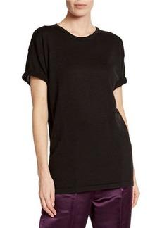 TOM FORD Cashmere-Silk Short-Sleeve T-Shirt