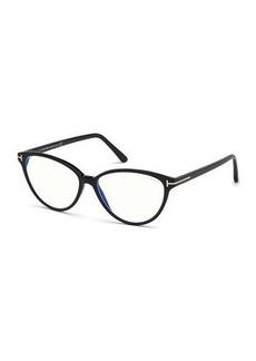 TOM FORD Cat-Eye Acetate Optical Frames