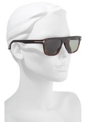 8bc49a574b Tom Ford Cecilio 57mm Blue Block Optical Glasses Sunglasses
