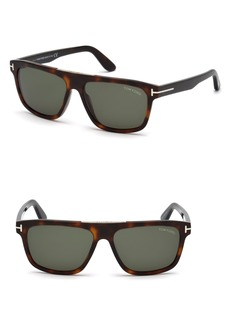 Tom Ford Cecilio 57mm Sunglasses