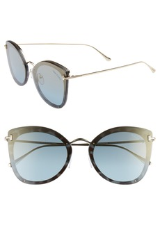 Tom Ford Charolette 62mm Oversize Butterfly Sunglasses