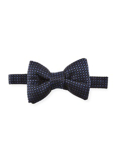 TOM FORD Check Silk Bow Tie