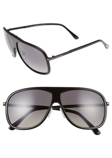 Tom Ford Chris 62mm Aviator Sunglasses
