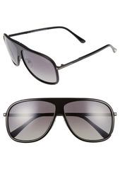 Tom Ford 'Chris' 62mm Polarized Sunglasses