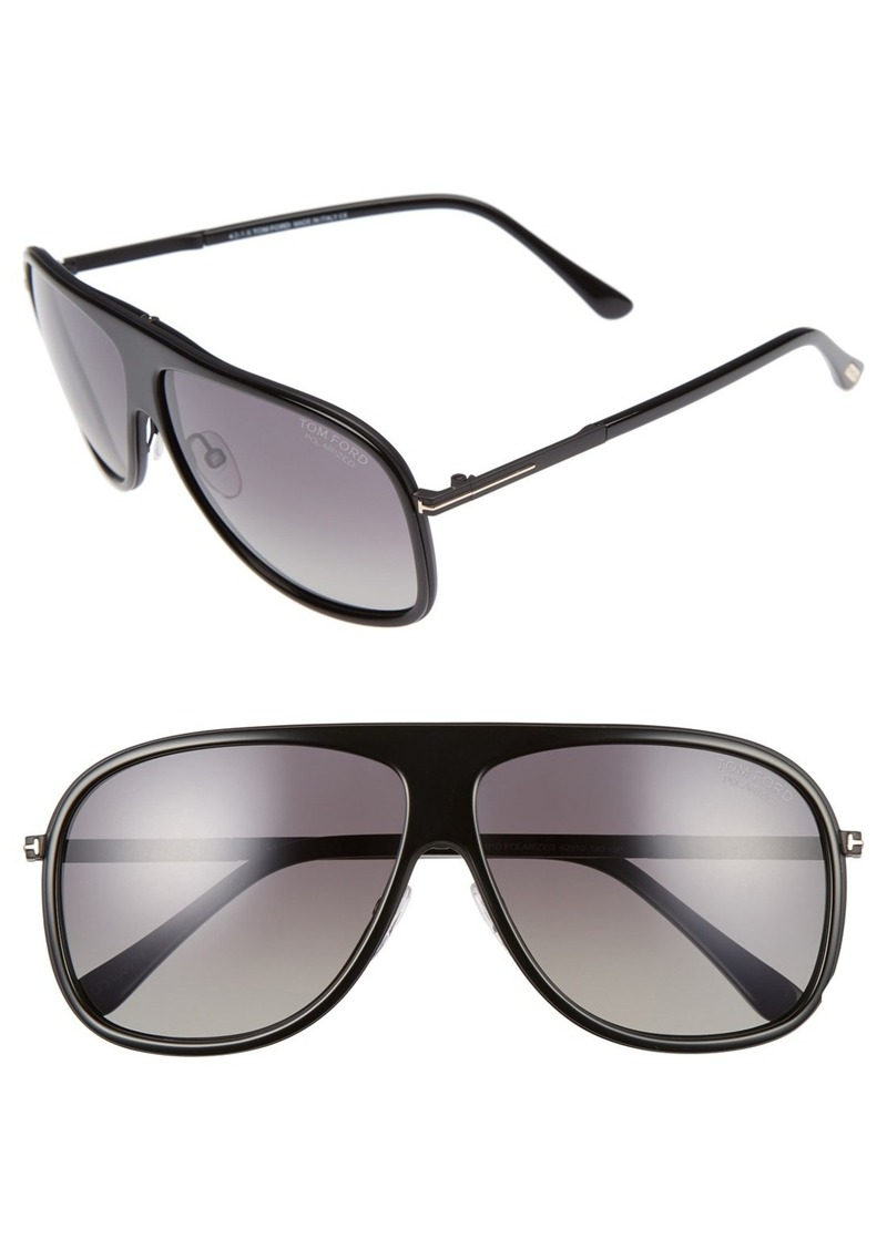 Tom Ford 'Chris' 62mm Polarized Sunglasses