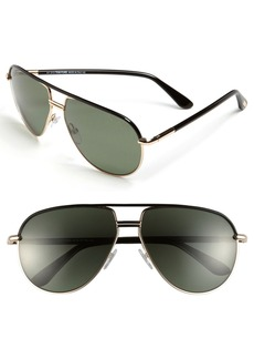 Tom Ford 'Cole' 61mm Polarized Aviator Sunglasses