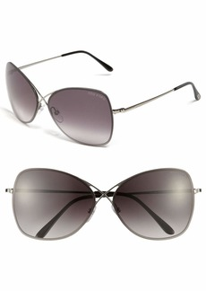 Tom Ford 'Colette' 63mm Oversized Sunglasses