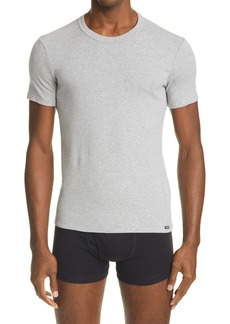 Tom Ford Cotton Jersey Crewneck T-Shirt