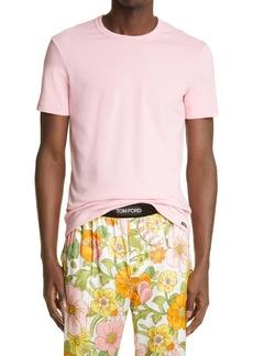 Tom Ford Cotton Jersey Crewneck T-Shirt