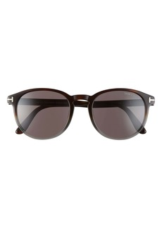 Tom Ford Dante 53mm Round Sunglasses