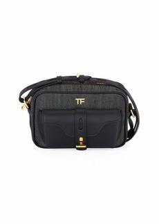 TOM FORD Denim and Grace Lux Shoulder Bag