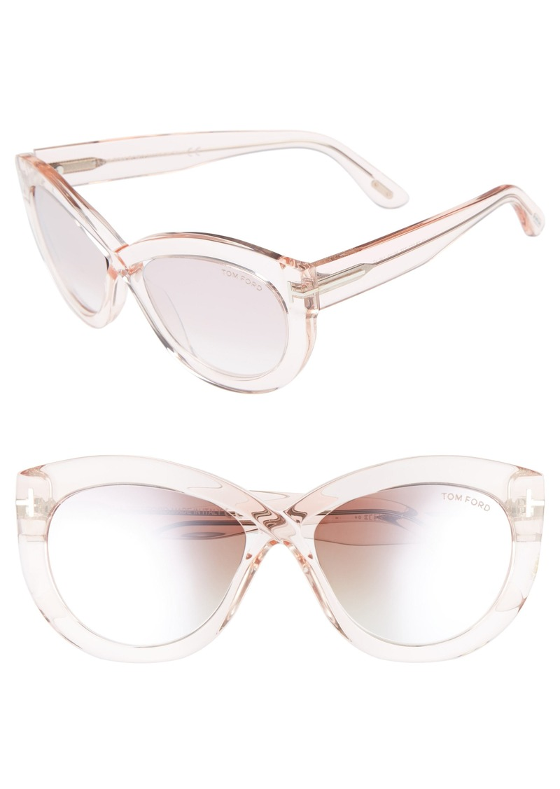042c9ca9d2 Tom Ford Tom Ford Diane 56mm Butterfly Sunglasses