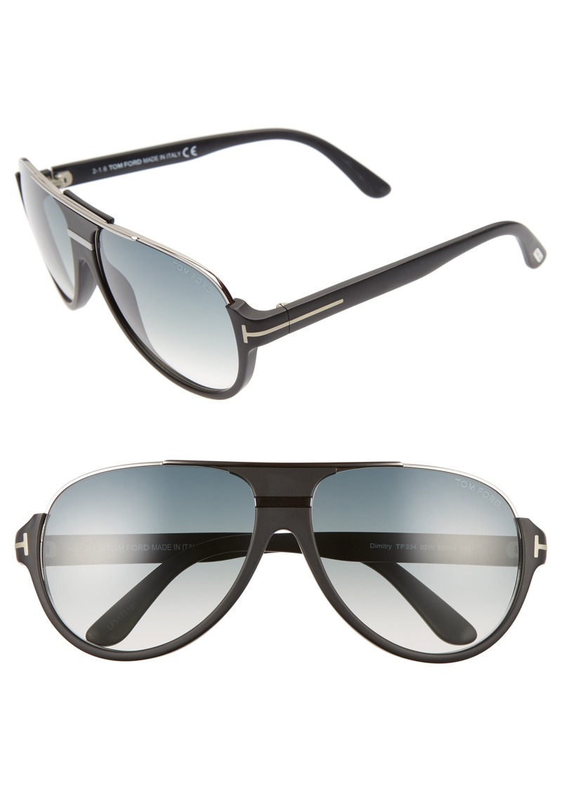 Tom Ford Dimitry 59mm Aviator Sunglasses