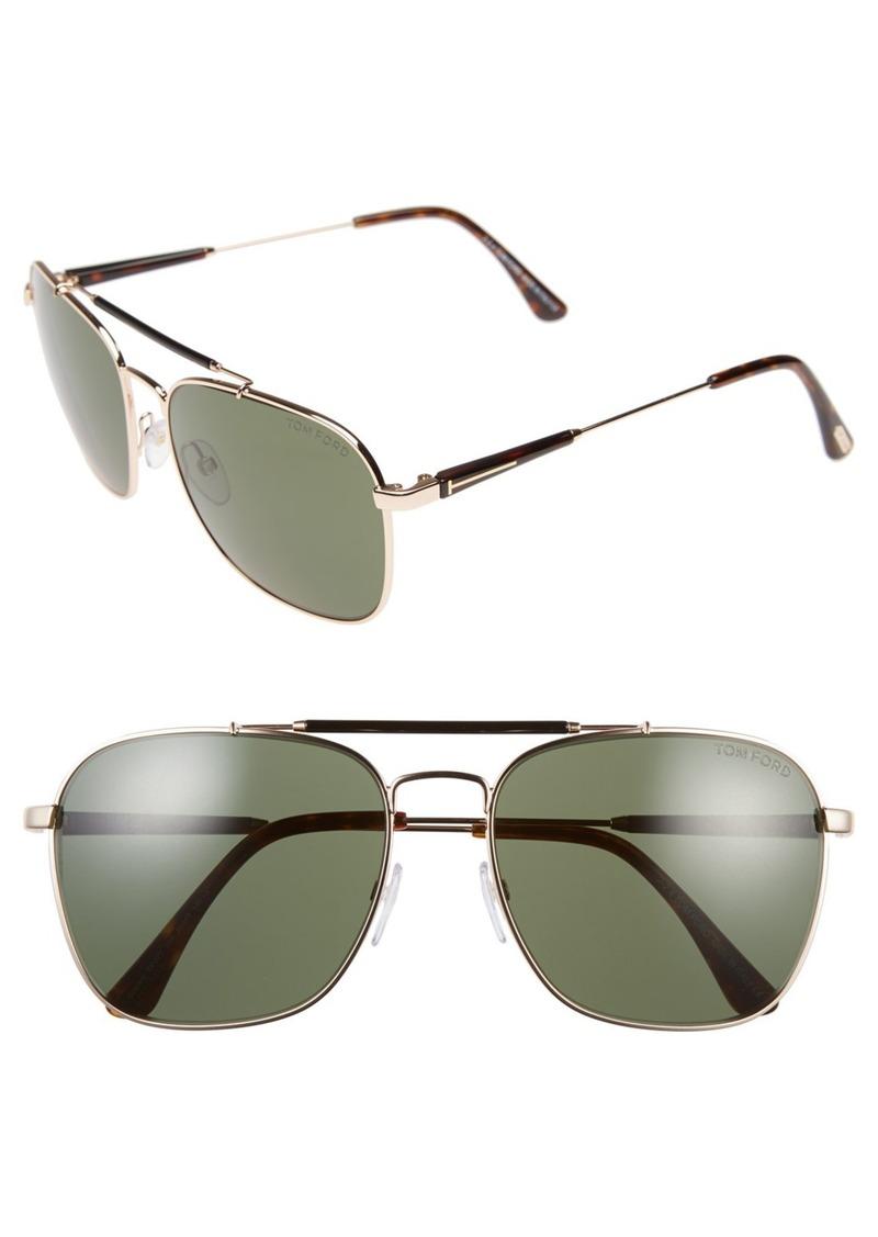 tom ford tom ford edward 58mm sunglasses regular retail