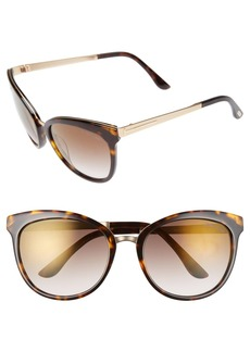 Tom Ford 'Emma' 56mm Retro Sunglasses
