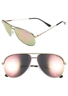 Tom Ford 'Erin' 61mm Aviator Sunglasses