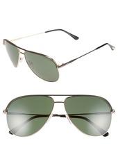 Tom Ford 'Erin' 61mm Aviator Sunglasses