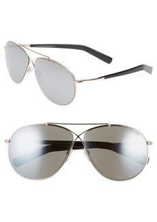 Tom Ford 'Eva' 61mm Aviator Sunglasses