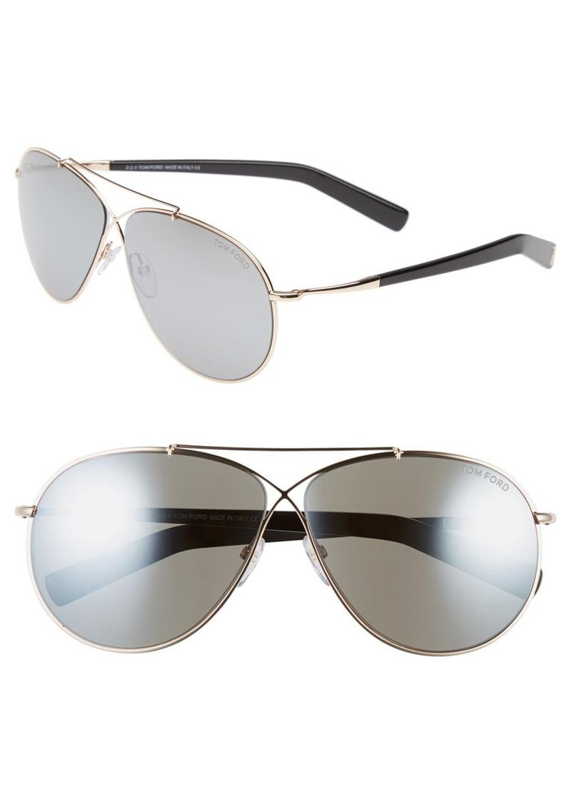 2646c5f8ca69 Tom Ford Tom Ford  Eva  61mm Aviator Sunglasses
