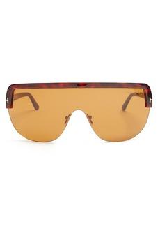 Tom Ford Eyewear Angus shield sunglasses
