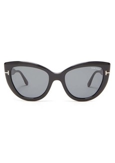 Tom Ford Eyewear Anya cat-eye acetate sunglasses