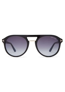 Tom Ford Eyewear Aviator acetate sunglasses