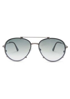 Tom Ford Eyewear Dickon aviator sunglasses