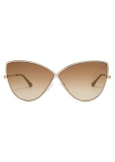 Tom Ford Eyewear Elise cat-eye frame sunglasses