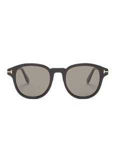 Tom Ford Eyewear Jameson round acetate sunglasses