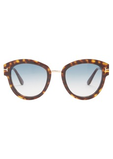 Tom Ford Eyewear Lara round-frame sunglasses