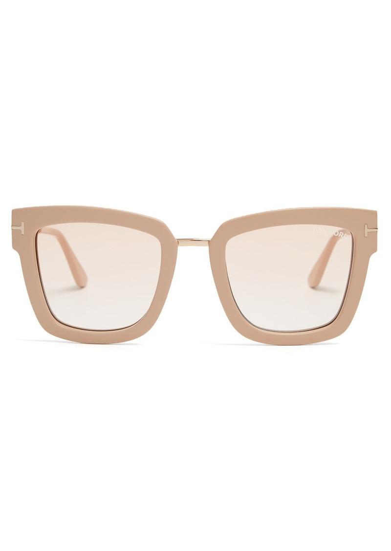c3a1a9673e50 Tom Ford Tom Ford Eyewear Lara square-frame sunglasses