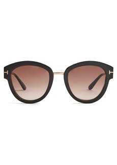 Tom Ford Eyewear Mia round-frame sunglasses