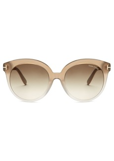 Tom Ford Eyewear Monica acetate sunglasses